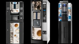 Automate de cafea noi cu livrare din stoc